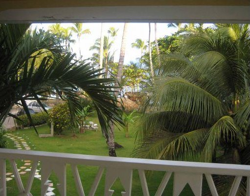 The view from my appartment in Las Terrenas., Dominican Republic