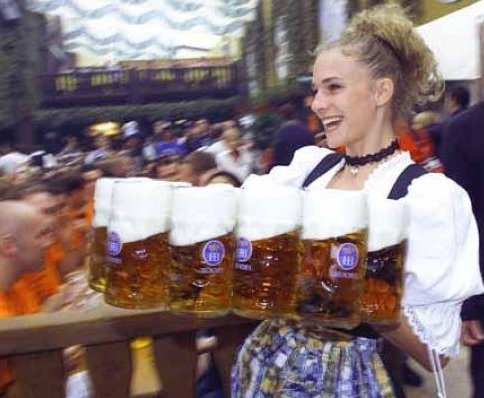 Pictures of Oktoberfest in Munich, Germany. Munich