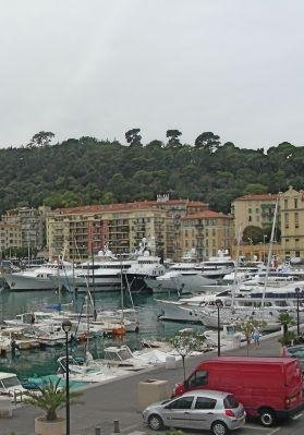 Pictures of the boats in Montecarlo., France