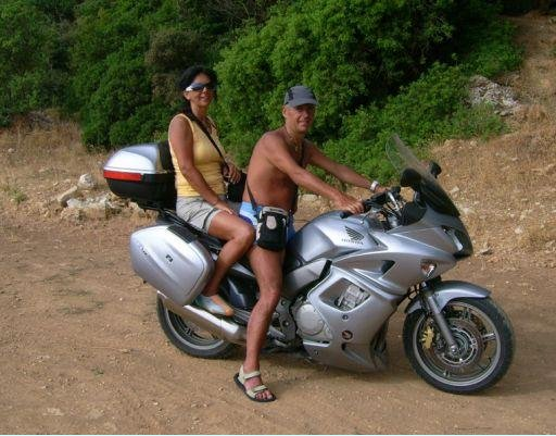 Ready for a bike trip around the island, Greece., Greece
