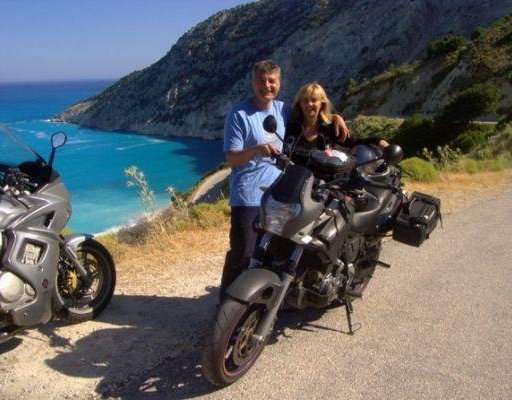 Motor Bike trip around Kefalonia, Greece., Greece