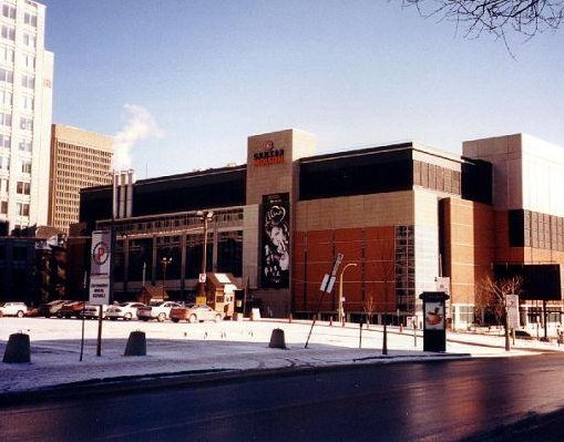 Shopping centre in Montreal, Canada., Montreal Canada