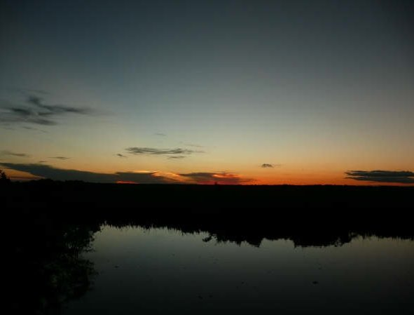 Sunset over the pampas, Rurrenabaque, Bolivia., Bolivia