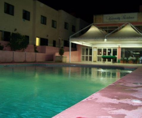 The swimming pool at our accomodation in Lija, Malta., Malta