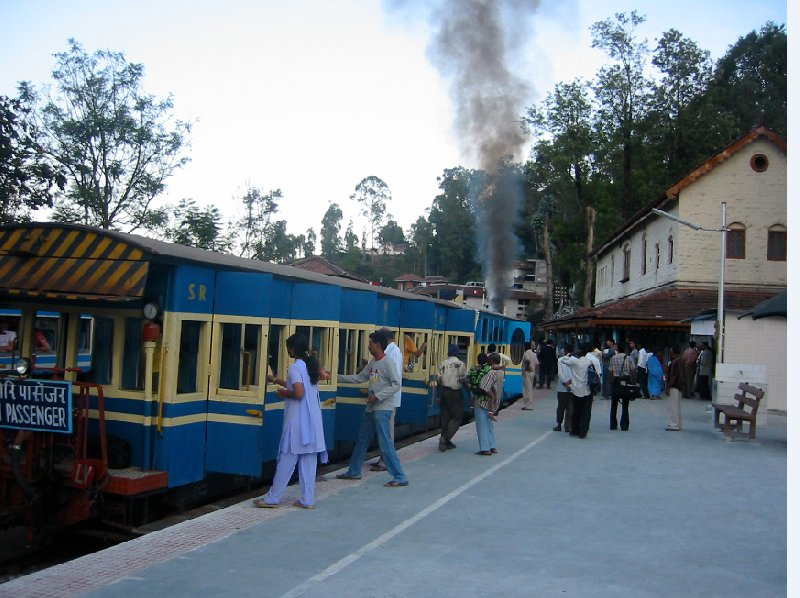Pictures of the trains in India., India