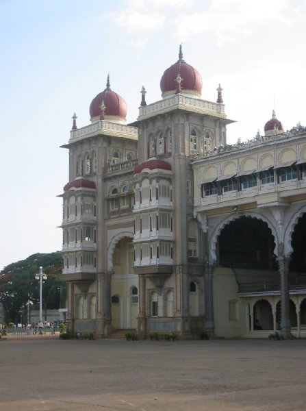Photos taken at the Mysore Palace., India