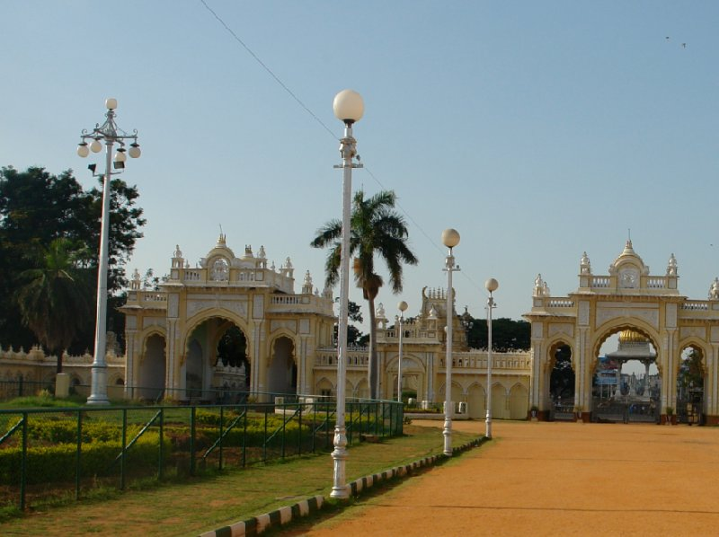 Day trip to the Mysore Palace Ground., India