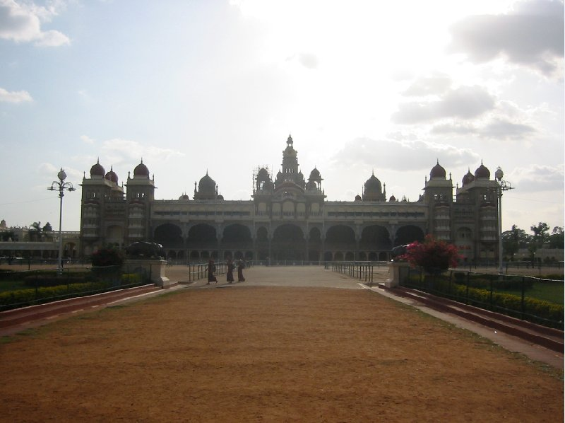 Photos of the Mysore Palace in India., India