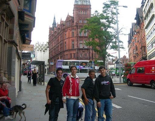 Photos on King Street in Nottingham, United Kingdom., Nottingham United Kingdom