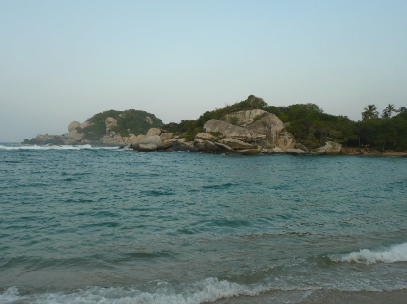 Photos of the coastline in Santa Marta, Colombia., Colombia