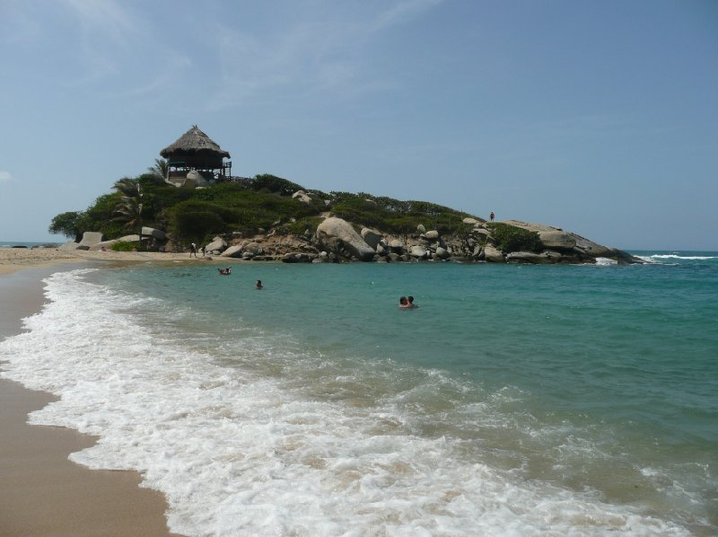 Pictures of the beaches in Parque Tayrona, Colombia., Colombia