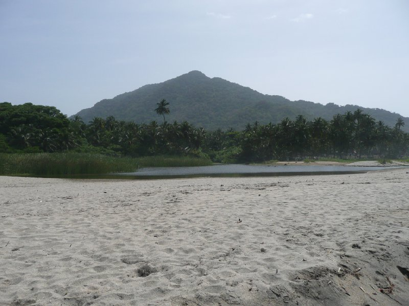 Sand beaches and green forests, Tayrona., Santa Marta Colombia