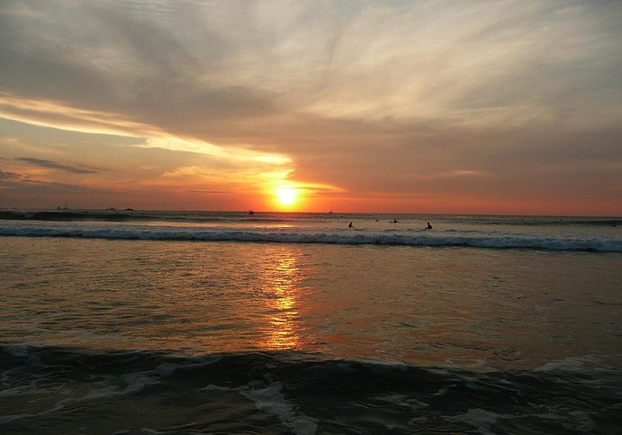 Photos of sunset in Tamarindo, Costa Rica, Costa Rica