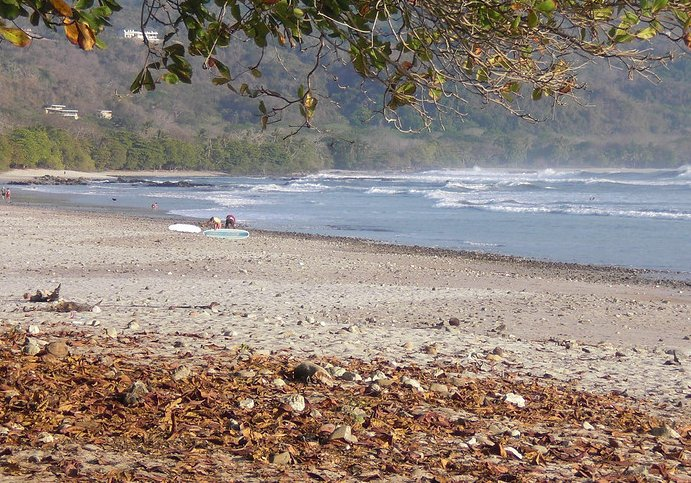The beaches in Tamarindo, Costa Rica