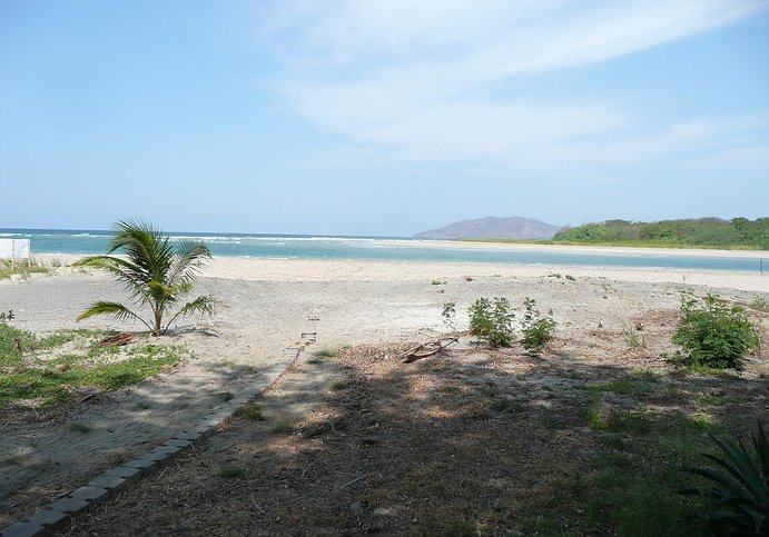 Photos of the beach just outside the hostel, Tamarindo, Costa Rica