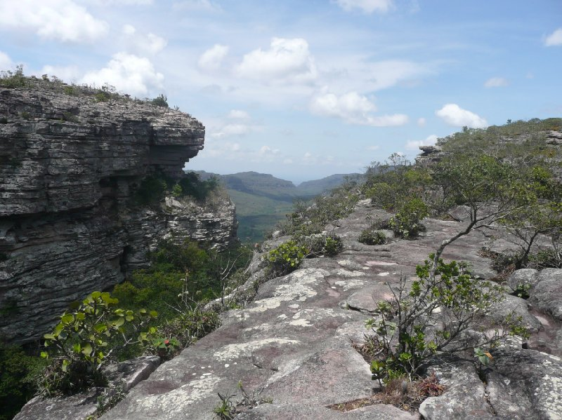 The gorges in Lencois, Lencois Brazil