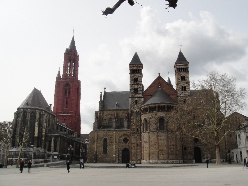 Photos of Vrijthof Square in Maastricht, Netherlands