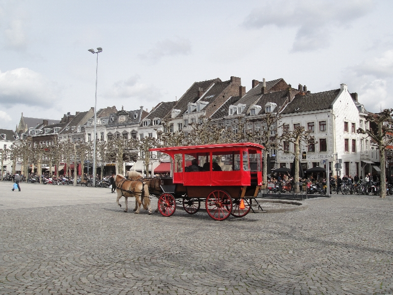 Horse carriage tour in Maastricht, Netherlands
