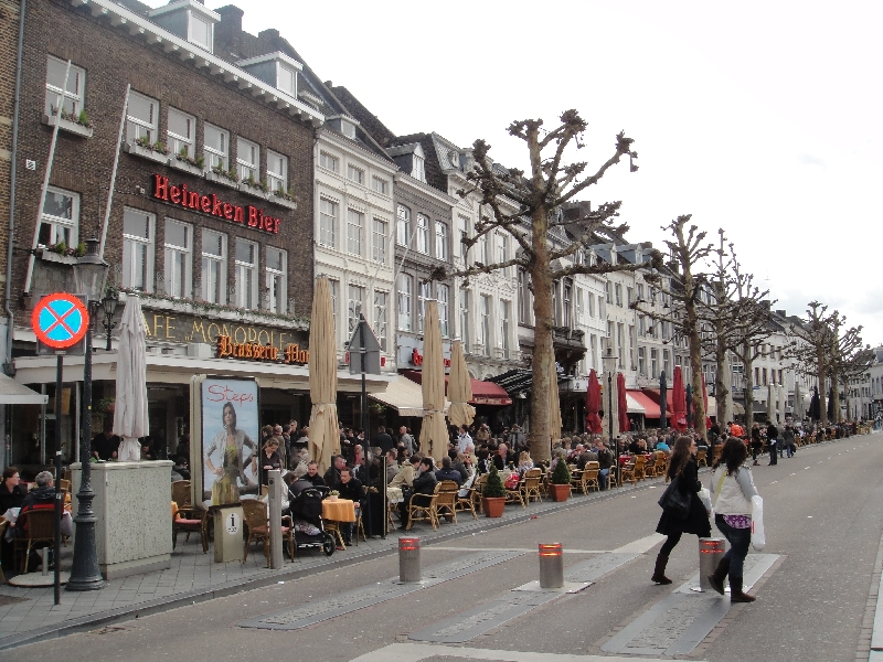 Bars and restaurants in Maastricht, Netherlands