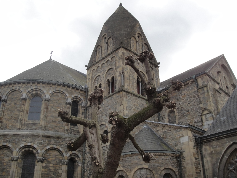 Old Basilica in Maastricht, The Netherlands, Netherlands