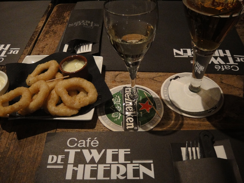 Cafe restaurant De Twee Heren in Maastricht, The Netherlands, Netherlands