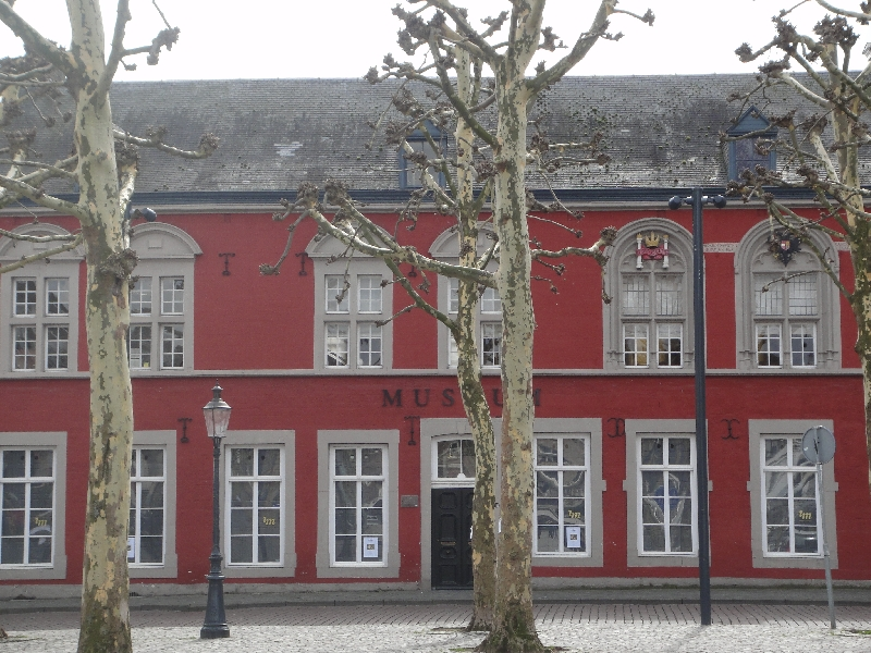 Museum on Vrijthof Square in Maastricht, Netherlands