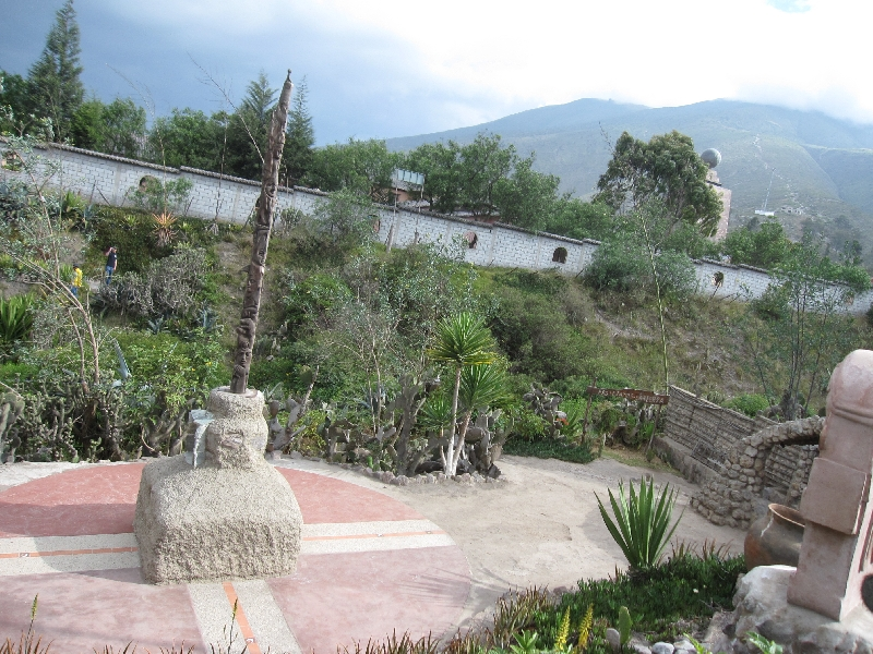 The gardens of the Museo Inti Nan in Ecuador, Ecuador