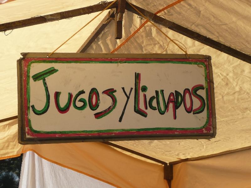 Jugos y Licuados in El Bolson, Argentina