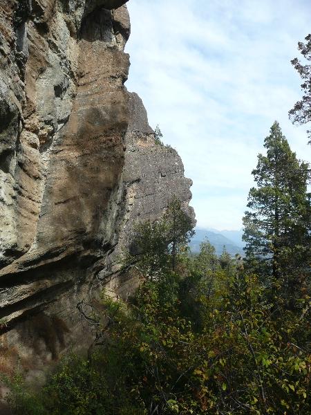 Photos of the rock formation called Cabeza de Indio near El Bolson , El Bolson Argentina