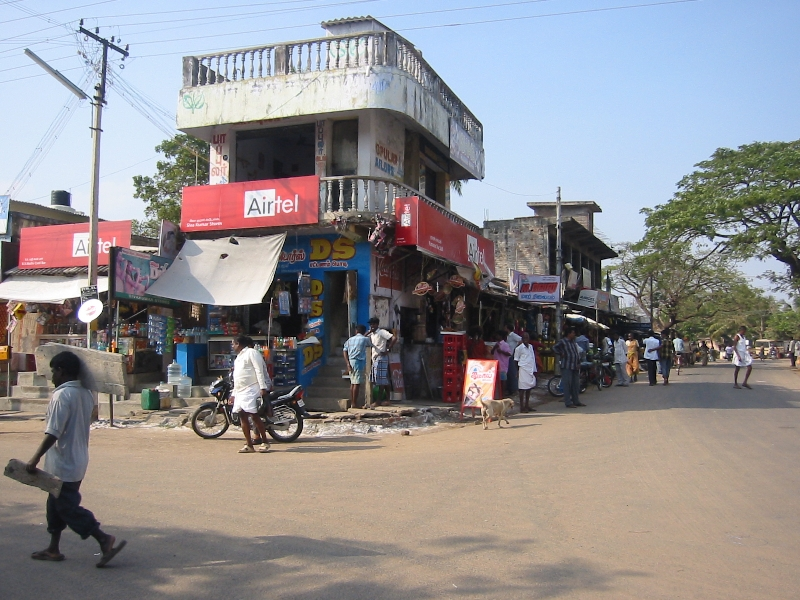 Photos of the shops in Mahabalipuram, India, India