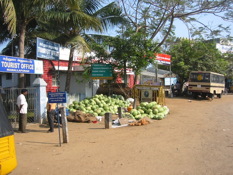 Tourist office in Mahabalipuram, Tamil Nadu, India, Mahabalipuram India