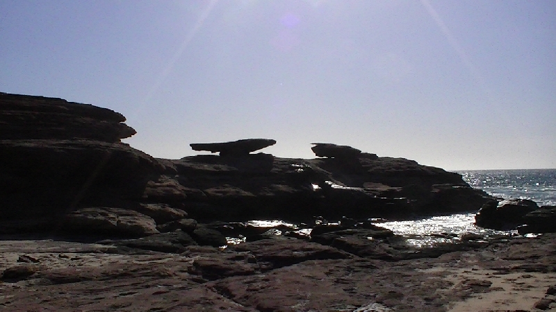 Hike to Mushroom Rock in Kalbarri, Australia