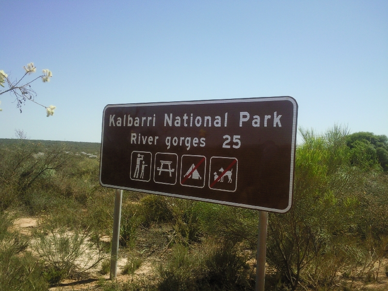 The river gorges of Kalbarri National Park, Australia