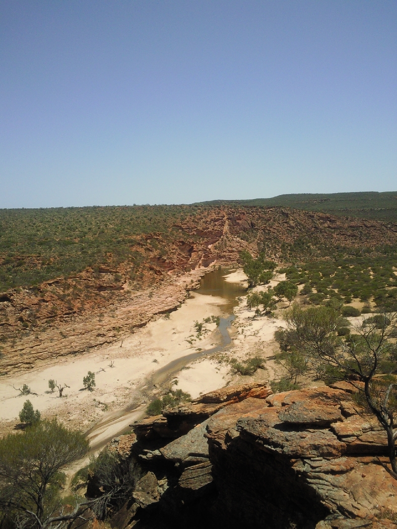 Photos of the view from Nature's Windos, Kalbarri, Kalbarri Australia
