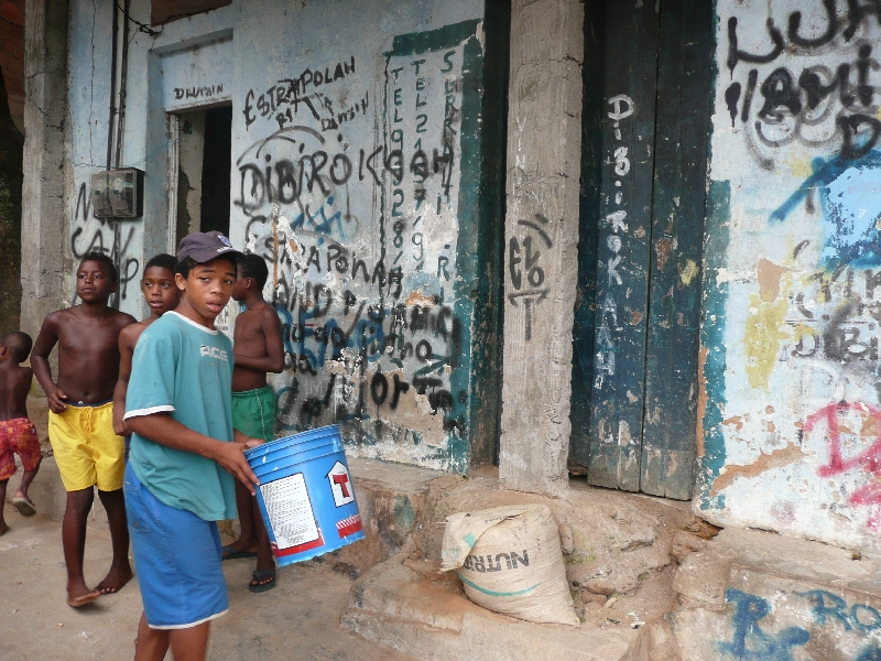 Children of Rocinha, Rio de Janeiro, Brazil