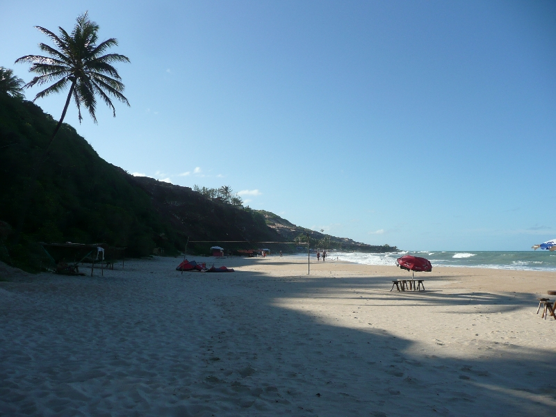 The sandy beaches of Pipa, Brazil, Brazil