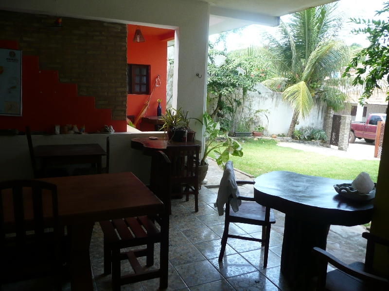 Hostel in Pipa, south of Natal, Brazil