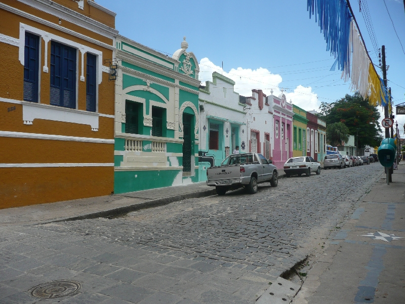 The colourful houses of Olinda, Brazil, Brazil