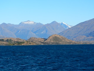 Queenstown New Zealand Views across from Wanaka - real special place
