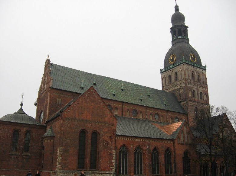 Pictures of The Dome Cathedral in Riga, Latvia, Riga Latvia