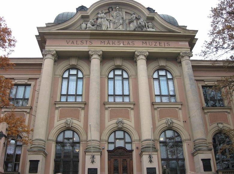 Valsts Makslas Muzeis in Riga, Latvia, Latvia