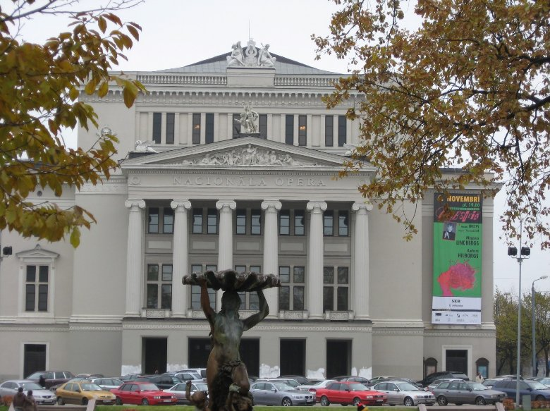 Picture of the Riga Opera House, Latvia