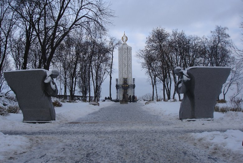 Photos of the Great Famine Monument in Kiev, Ukraine, Kiev Ukraine