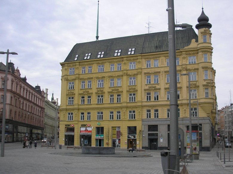 Freedom Square in Bratislava, Slovakia, Bratislava Slovakia