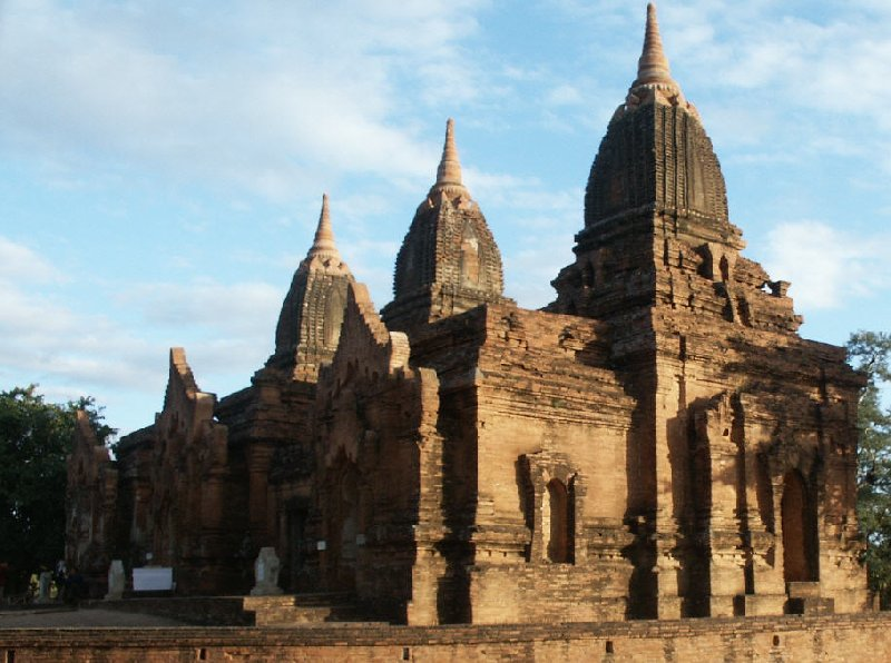 Photos of the temple ruins of Bagan, Myanmar, Myanmar