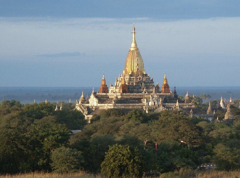 Photos of the Ananda Temple of Bagan, Myanmar, Myanmar