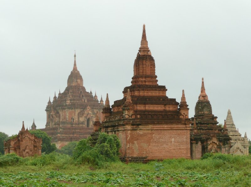 Photos of The Pagoda's of Bagan, Myanmar, Myanmar