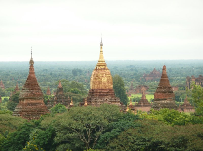 Pictures of The Pagoda's of Bagan, Myanmar, Myanmar