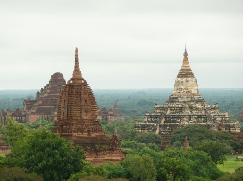 The Pagoda's of Bagan, Myanmar, Myanmar