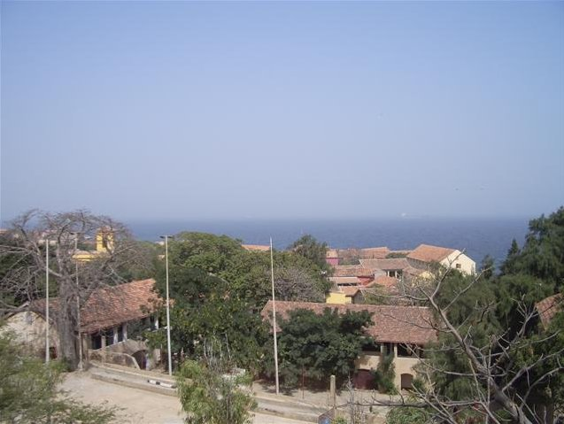 Panoramic view of Ile de Goree, Senegal, Senegal